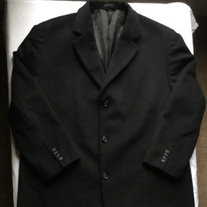 Stafford wool blend trench coat